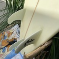 For Sale: Custom Shaped rusty surfboard