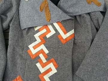 Selling with online payment: Corn Spirit - wool coat - one-of-a-kind