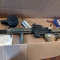 Selling: Tan CYMA M4 + Drum + Sight + Battery