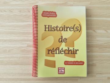 Vente avec paiement en ligne: Histoire(s) de réfléchir - Cahier + CD