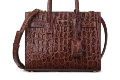 Fashion Rental: YSL CLASSIC SAC DE JOUR NANO IN CROCO LEATHER