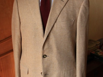 Selling with online payment: Raffaele Caruso hand made jacket 40UK/50EU new!