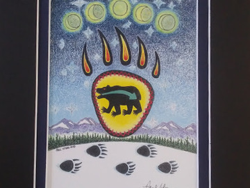 Selling with online payment: Bear Spirit Print