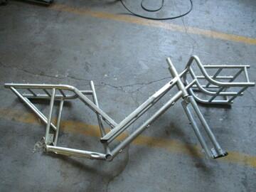 Verkaufen: Cargo Rahmen, Bäckerrad/Lastenrad mit Korb