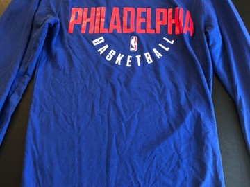 Selling A Singular Item: Dri-Fit Nike 76ers long sleeve t-shirt
