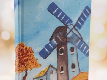 : Artwork Notebook - Windmill