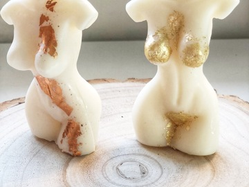 For Sale: The Naked Goddess Soy Wax Candle