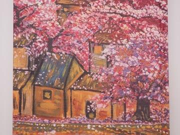: Artwork Notebook - Cherry Blossoms