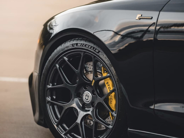 """Selling: HRE P40SC 19"""" with PS4S Tires"""