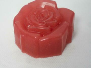 For Sale: Rose flower soap (pack of four)