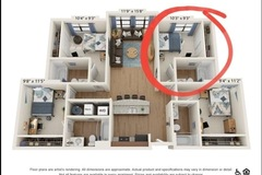 List Your Space: 1 Bed/1 Bath in Varsity 4x4