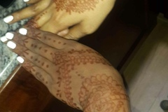 Services: Wedding planning, tea cup readings and henna tattoo.