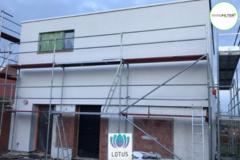.: Gevelbepleistering I door Lotus Pleisterwerken