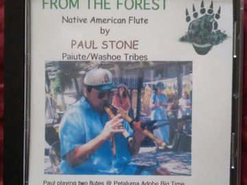 Selling with online payment: From The Forest, Native American Flute Music