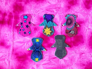 For Sale: 100 % cotton topped African print reusable cloth pads