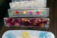 For Sale: Resin hair clips