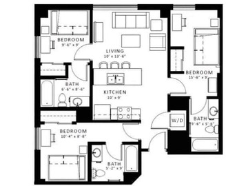 List Your Space: 1, 2, or 3 bedrooms in ArborBlu