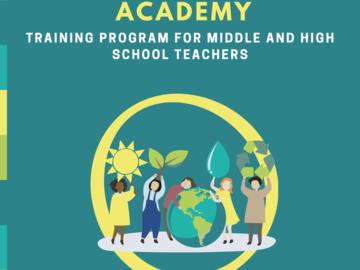 Professional Development: Climate Action Academy (TEACH scholarship)