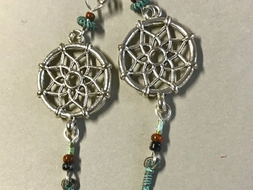 Selling with online payment: EARRINGS Dreamcatchers