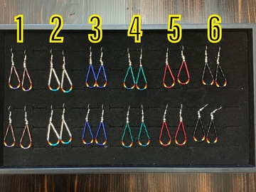 Selling with online payment: Southwest Bugle Earrings