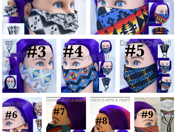 Selling with online payment: Southwest Face Mask