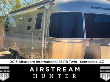 For Sale: SOLD :2015 Airstream International Signature 25 RB Twin