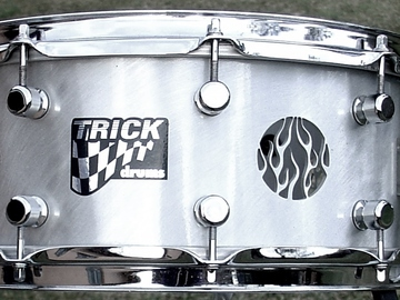 Selling with online payment: Early 2000s TRICK 6x14 Snare drum Exellent condition