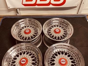 Selling: 16x9.5 +22 5x100 BBS RS 3pc wheels
