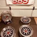 Selling: 17x9 +20 5x112 BBS LM 2pc wheels