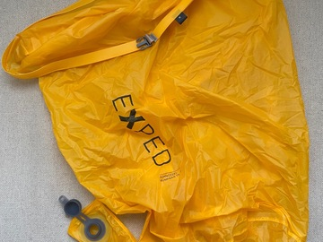 Leier ut (per day): Exped Schnozzel Pumpbag UL M