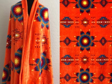 Selling with online payment: Star Throw Blanket