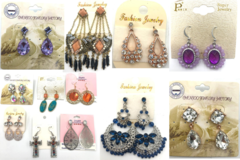 Liquidation/Wholesale Lot: 300 Pair Sample Earrings Gorgeous styles ! Every pair different !