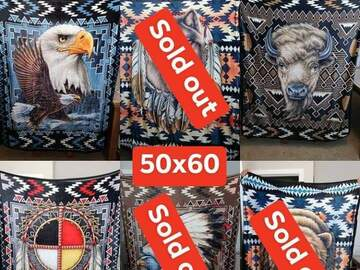 Selling with online payment: Throw Blanket
