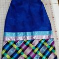 Selling with online payment: Ribbon Skirt Blue Small