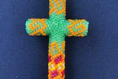 Selling with online payment: Beaded Keychain Cross