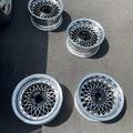 Selling: 4x114.3 15 inch SSR 3 piece wheels