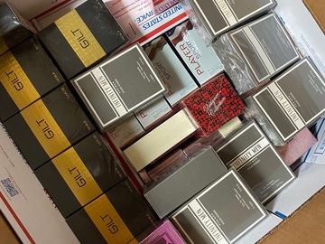Liquidation / Lot de gros: 50 Assorted perfumes & colognes 3.4oz
