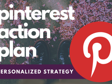 Offering online services: Pinterest Action Plan, Personalized for You!
