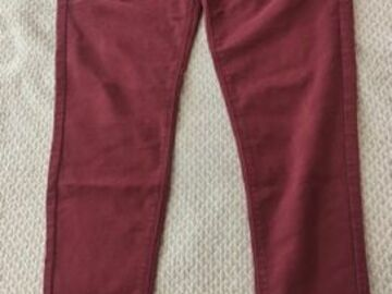 Selling without online payment: Red Fitted Trousers