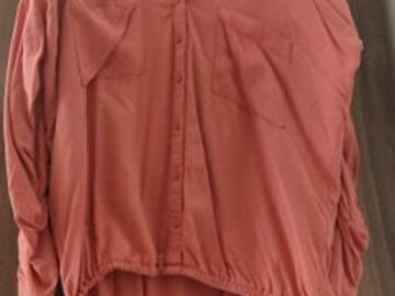 Selling without online payment: Salmon Buttoned Shirt