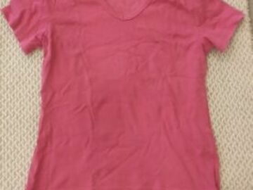 Selling without online payment: Pink casual top