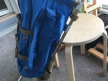 Myydään: Camping backpack