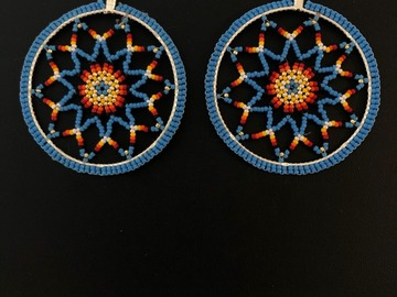 Selling with online payment: Beaded Hoop