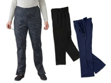 SALE: Women's Easy Access Comfort Self Dressing Pants Set of 3
