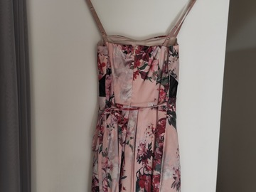 Selling with online payment: Floral Occasion Petite Dress