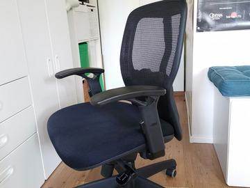 Vente: Fauteuil de bureau ergonomique de qualité en maille