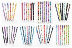 Liquidation/Wholesale Lot: 48 Assorted Disney Star Wars Mickey Princess Theme Lanyards