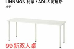 For Sale: IKEA Desk for two