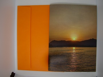 : Spring Greeting Card 3 (Sunset Over Nature)