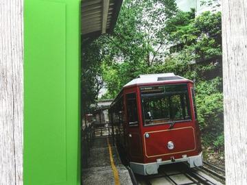 : Spring Greeting Card 5 (Peak Tram)